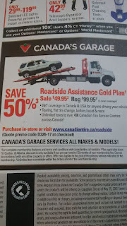 Canadian Tire - 50% off Gold Roadside Assistance