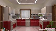 Modular Kitchen Dining Bedroom Interiors - Kerala Home