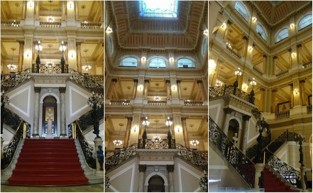 Atrações Históricas no centro do Rio de Janeiro - Biblioteca Nacional