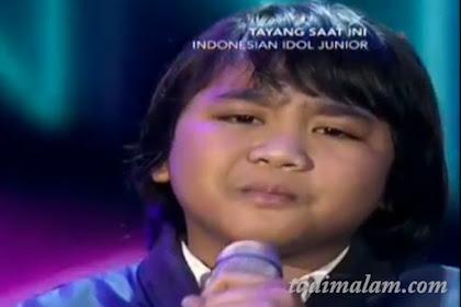 Top 3 Besar Indonesian Idol Junior Eliminasi 7 Desember 2018