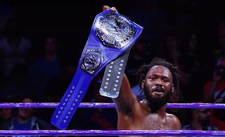 WWE - Rich Swann cortó la alegría de Brian Kendrick en el primer programa de 205 Live
