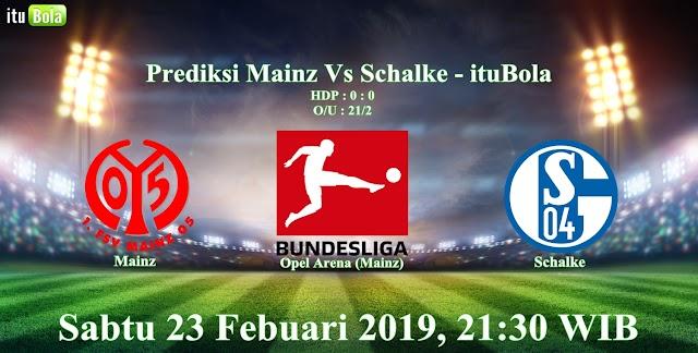 Prediksi Mainz Vs Schalke - ituBola