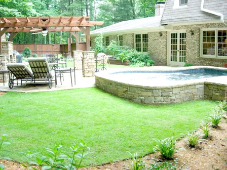 landscape design and ideas for the backyardlandscape design - Backyard Landscaping Design Ideas