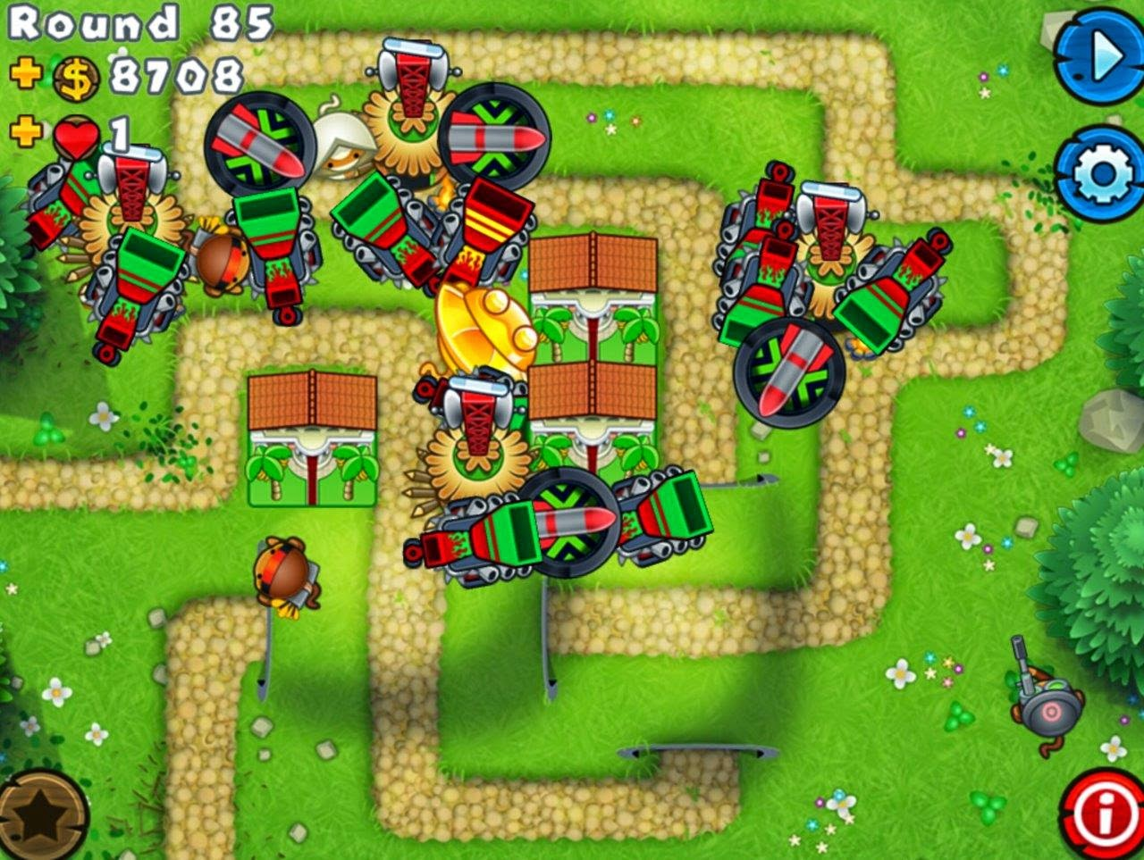 Solved Winning Bloons Tower Defence 5 On The Impoppable Level
