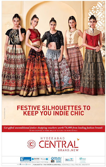 Trendy Ethnics offer in Central | October 2016 discount offer | Dasshera , Diwali festival offer