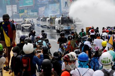 Unrest In Venezuela -- News Updates May 31, 2017