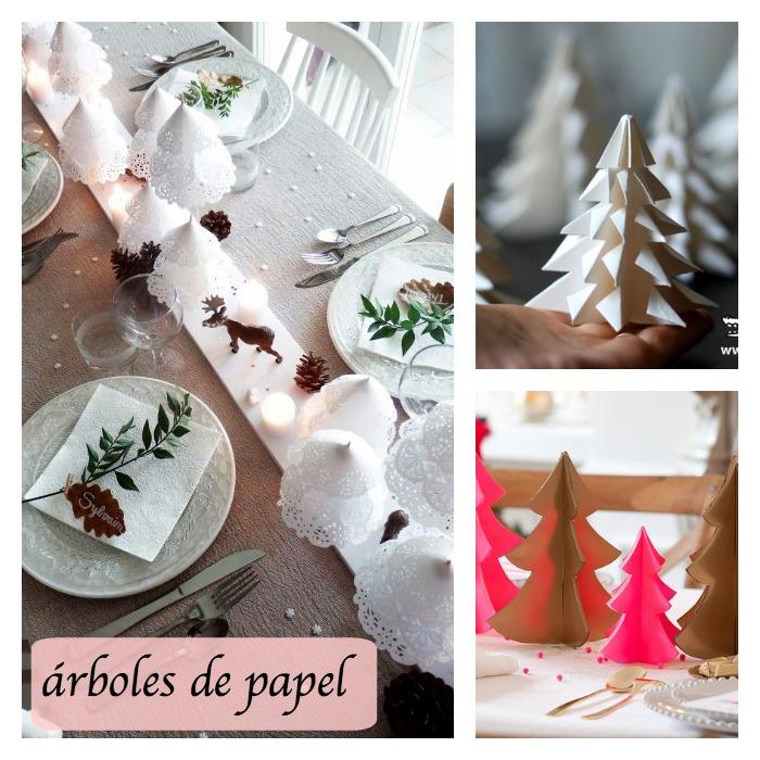 Inspiración DIY para la mesas en Navidad - DIARIODECO