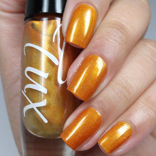 Tux Polish - Orange Pippin