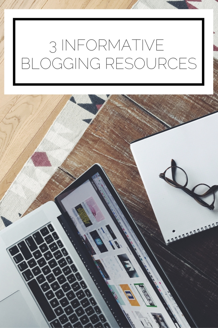 A roundup of 3 high quality, informative blogging resources