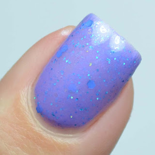 purple crelly nail polish