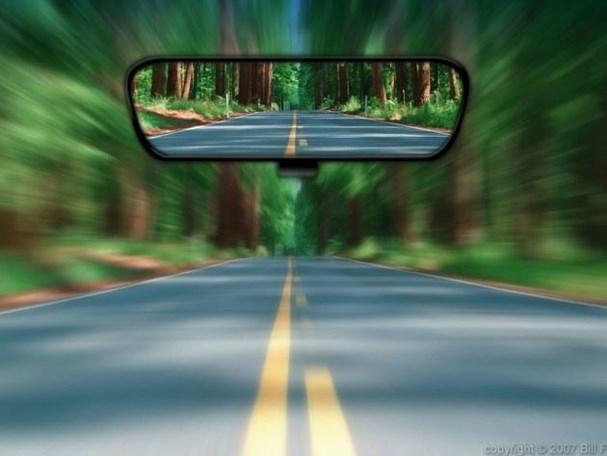Kinh nghiệm chỉnh gương chiếu hậu ô tô tránh 'điểm mù' cho tài mới