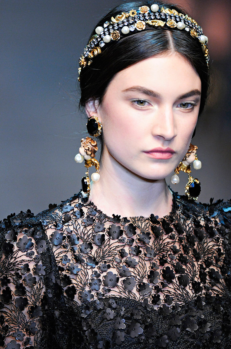 My BEADialogy...: Dolce And Gabbana Fall 2012 RTW Part2