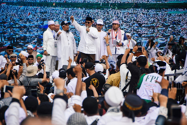 Prabowo Sampaikan Duka Cita atas Meninggalnya Peserta Reuni 212