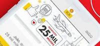 Promoção 25 mil milhas Shell App Box