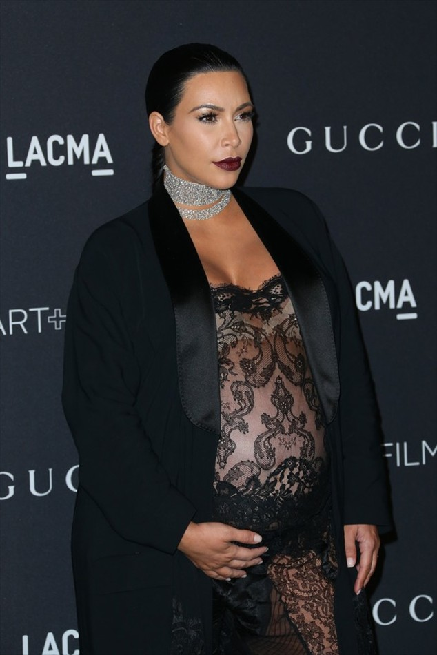 Kim Kardashian calls attention for transparent look in event in the u.s.
