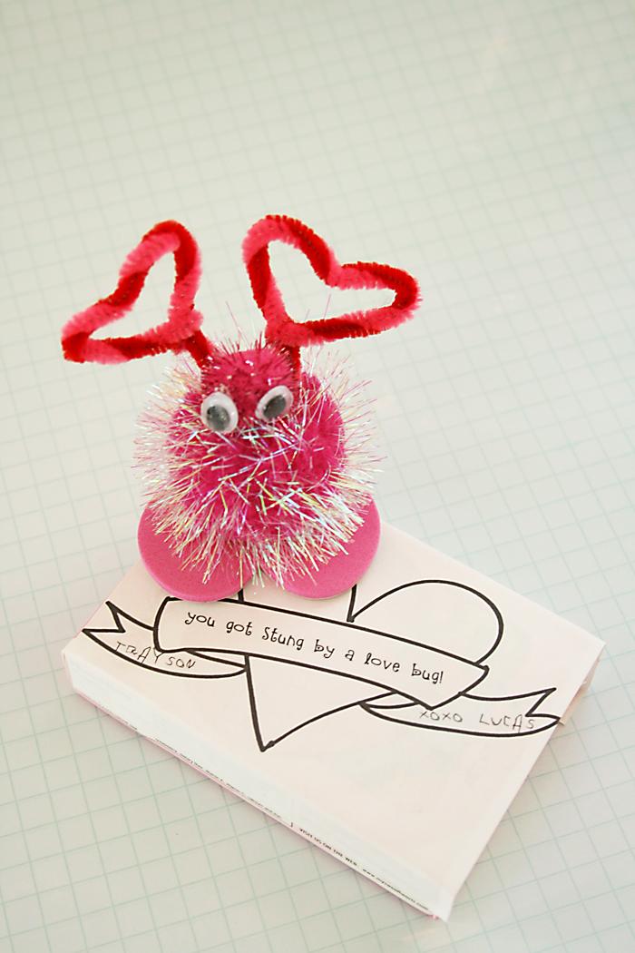 Lovebug Valentines + download - Darling Darleen | A