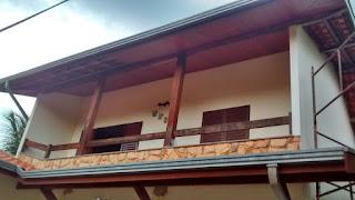 Forro PVC Mogno no Barão Geraldo