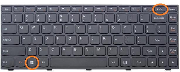 Cara screenshot layar laptop, pc/komputer - BAGUZWP