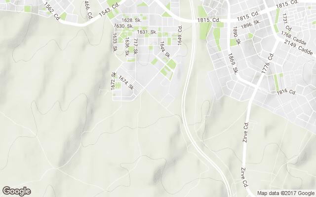 ayyıldız mahallesi harita