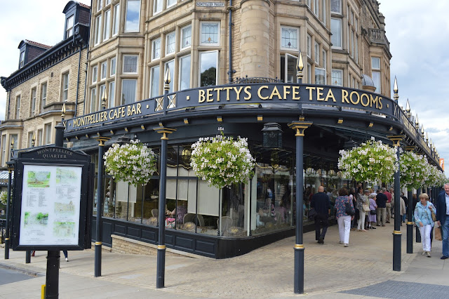Betty tea rooms in Harrogate