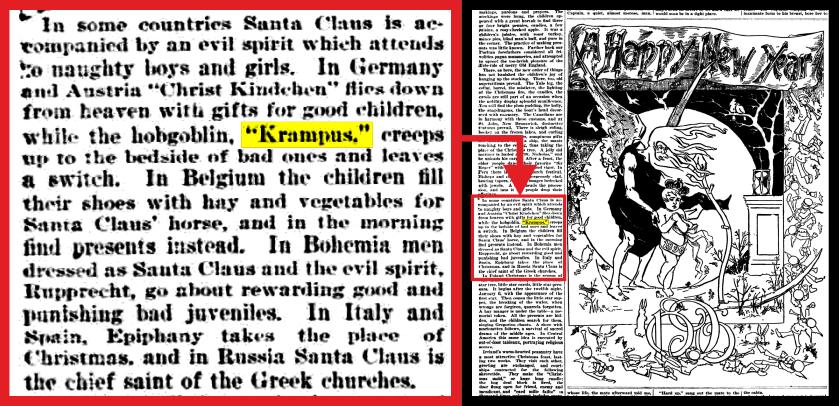 Krampus coming