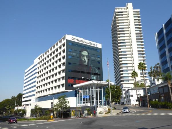 Giant Mr Robot season 2 billboard