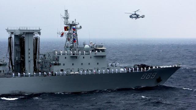 Rusia y China movilizan buques, submarinos y aviones de guerra en el Pacífico
