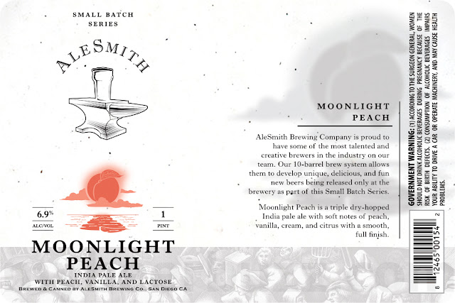 AleSmith Moonlight Peach Coming To Small Batch Series Cans