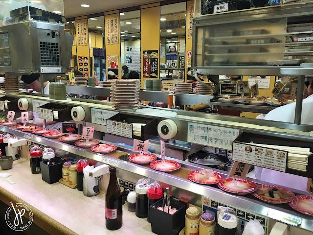Genrokuzushi Osaka conveyor belt sushi restaurant
