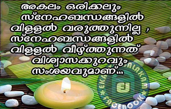 Lovely Quotes For You: Malayalam Quote