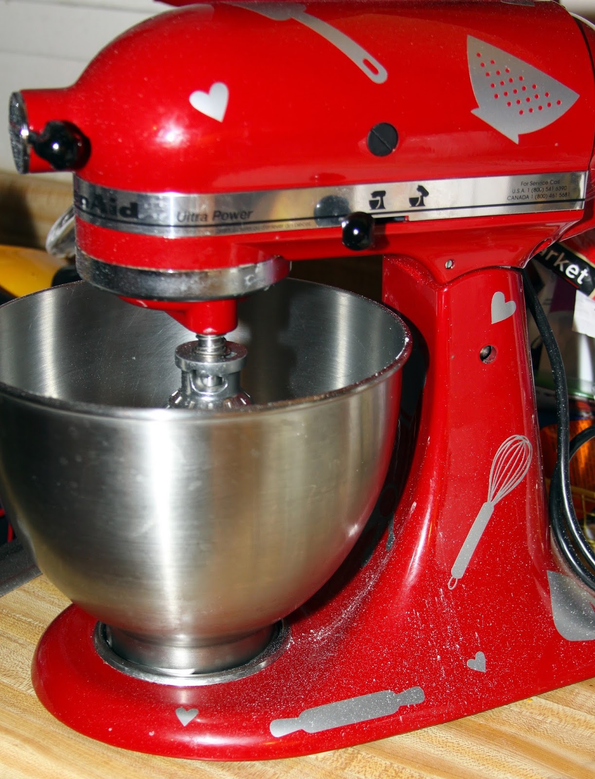 Pink Kitchen Aid Mixer Cabinet Slides For The Love Of Food Kitchenaid Cook Cure