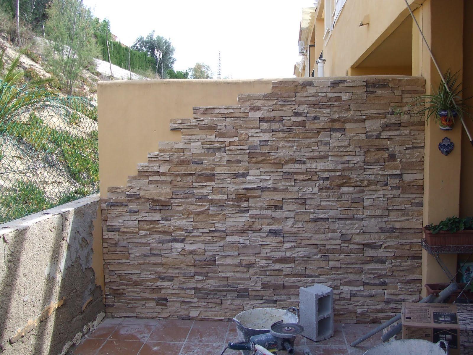 Edifica tus ideas piedra natural - Muro de piedra natural ...
