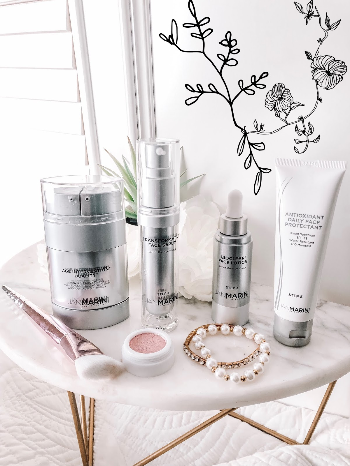 affordable by amanda tampa blogger reviewing skin care products by jan marini