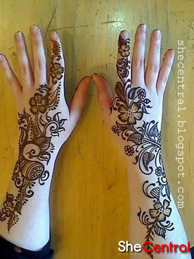 Modern Arabic Mehndi Designs : Modern mehndi designs henna art arabic