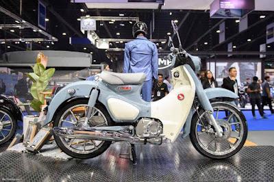 Motor Malaysia Honda C125 Super Cub 2018 Harga RM12,000 125cc