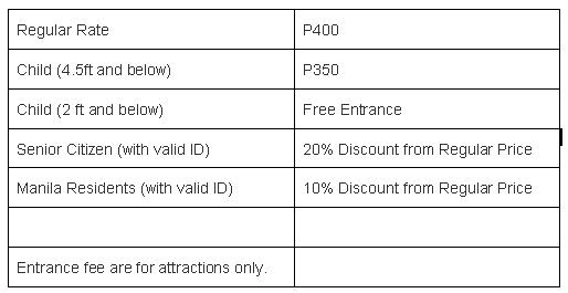 Star City Philippines Entrance Fee