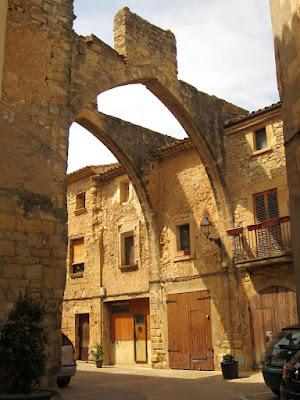 Calle Mayor de Vallbona de les Monges