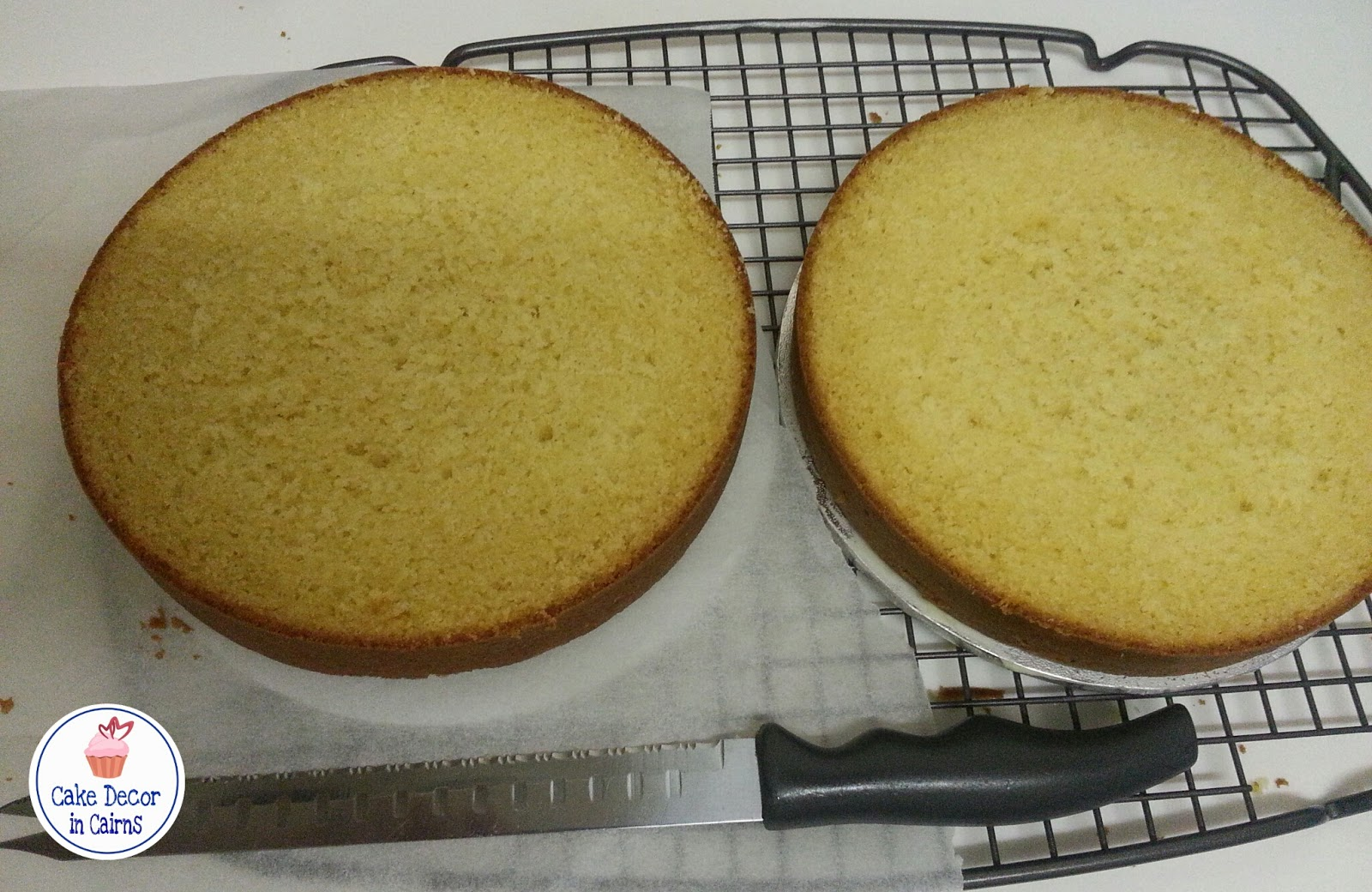 A torted yellow cake