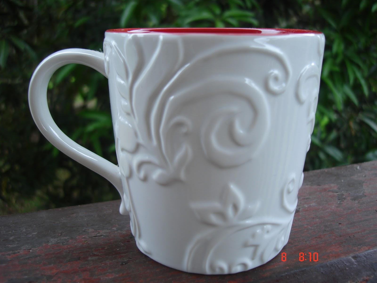A Cup A Day 2009 Starbucks Christmas Coffee Mug
