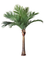 palmera artificial exterior