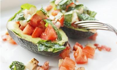 Avocado Caprese Boat, Health Nutrition, Food Health Nutrition