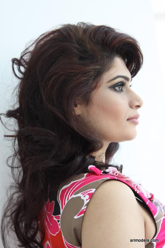 Srilankan Actress: Hirunika Premachandra | wearing a Pink
