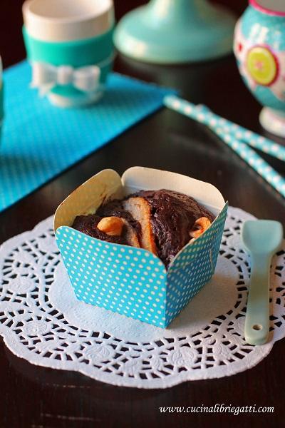muffin cioccolato pere nocciole ricetta