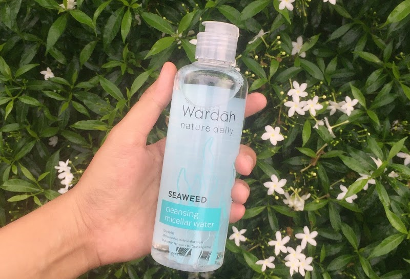 Wardah Seaweed Cleansing Micellar Water Review