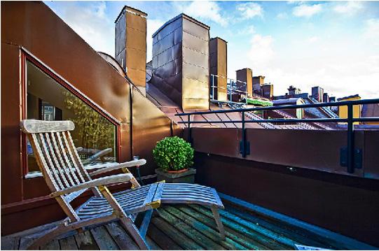 O che bel terrazzo marcondirondirondello architettura e for Sdraio da terrazzo