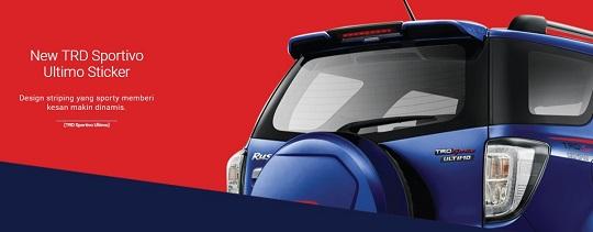 Spesifikasi New Agya Trd 2017 Perbedaan Grand Veloz 1.3 Dan 1.5 Eksterior Toyota Rush Type G Sportivo Baru ...