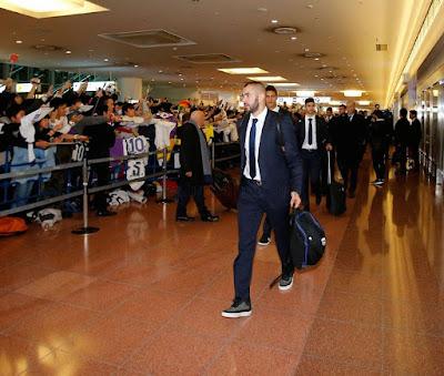 Real Madrid llegó al Mundial de Clubes