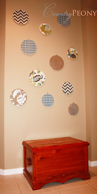Fabric Embroidery Wall