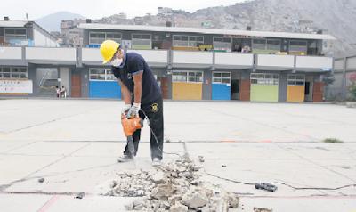 Directores recibirán hasta S/ 28.500 para que ejecuten mantenimiento de colegios