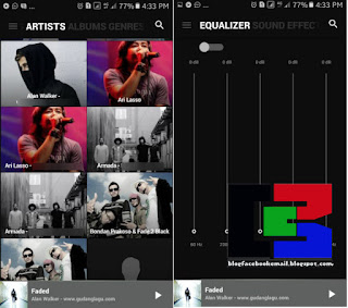 download aplikasi pemutar musik android blackplayer